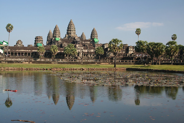 The magnificent temple of Angkor Wat