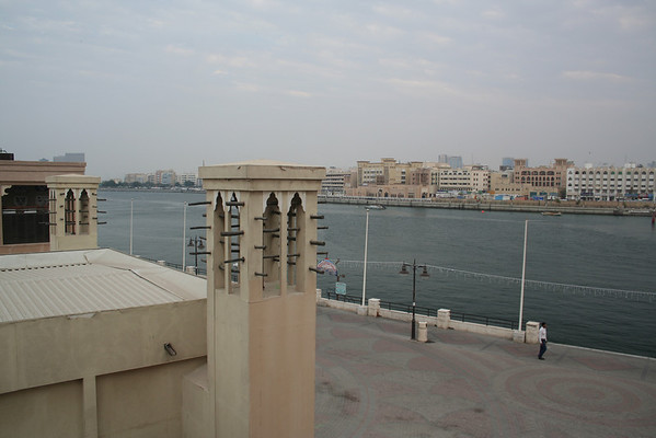 View from Sheikh Saeed Al Makhtoum House