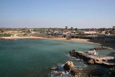 Caesarea submerged