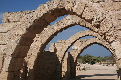 Arcade at Caesarea